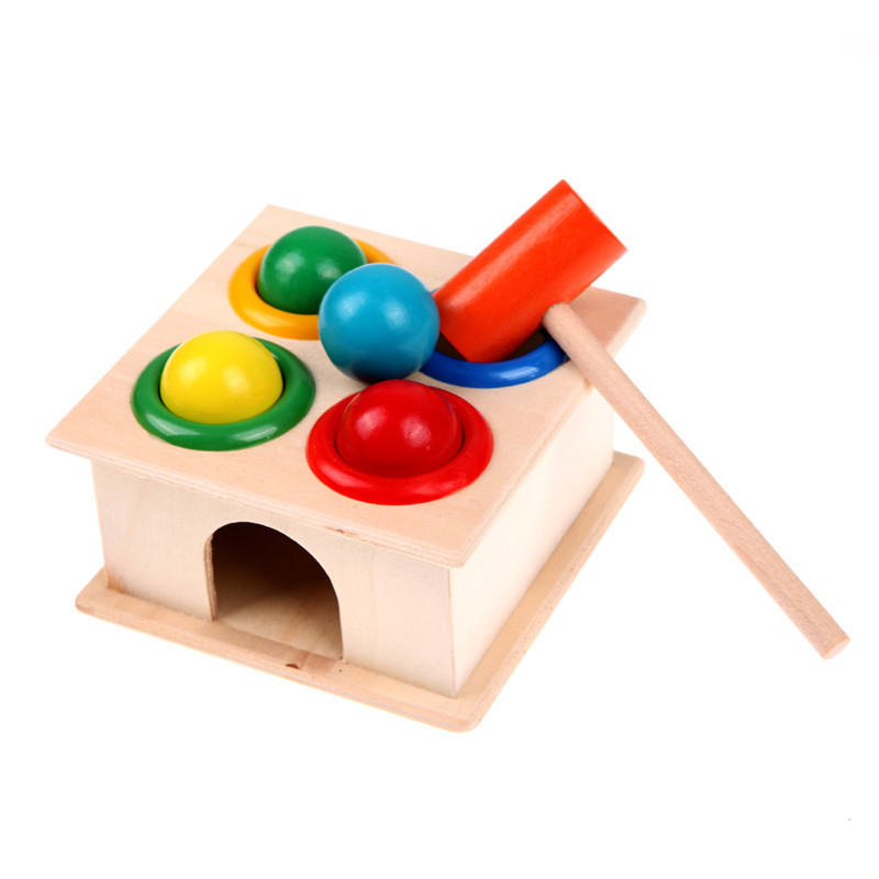 Wooden Toys Hammer Wood Toy Early Learning Educational ...