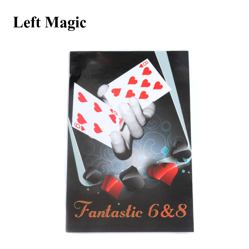 fantastic 6 to 8 moving point card for magician gimmick