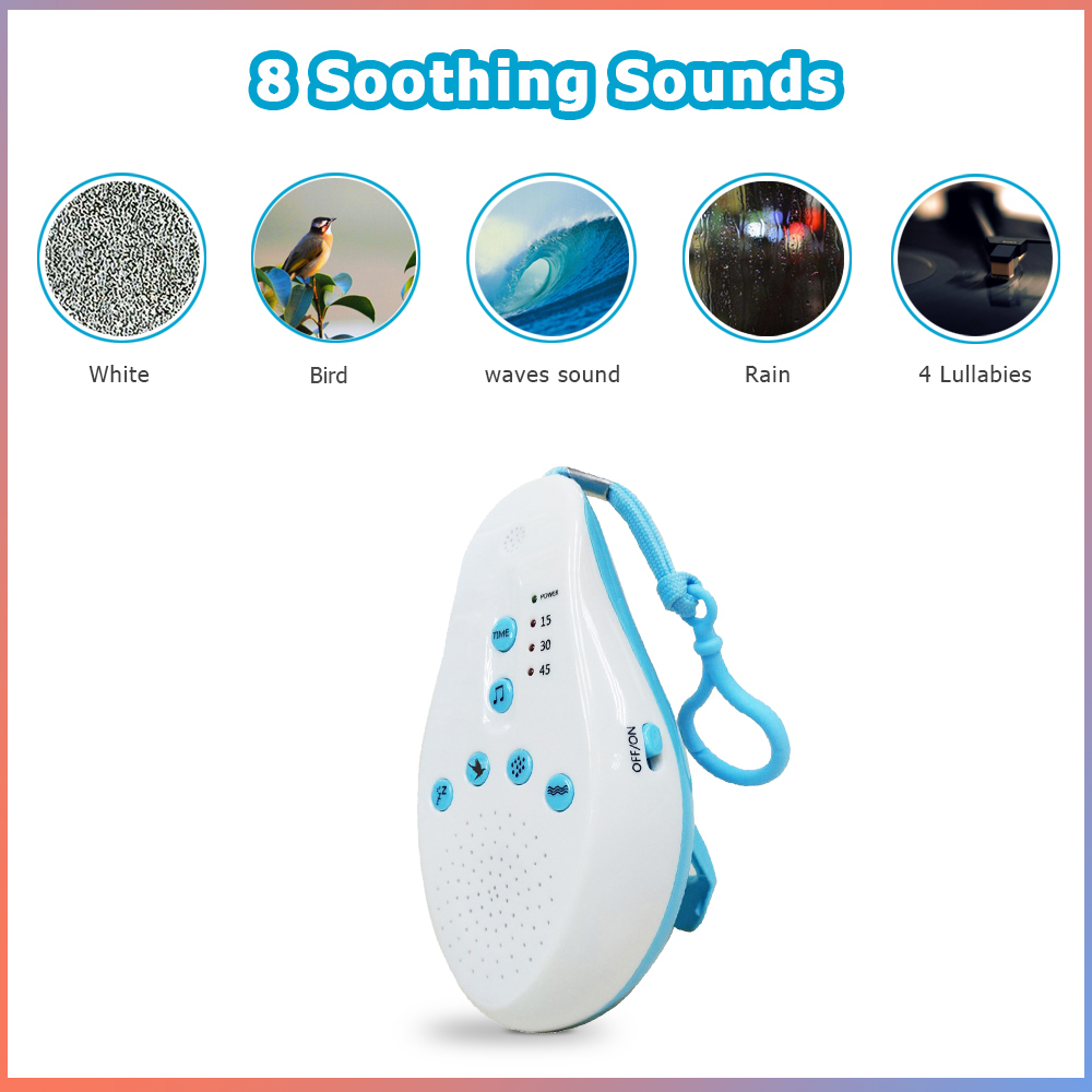2019 Baby White Noise Sound Machine Sleep Soother ...