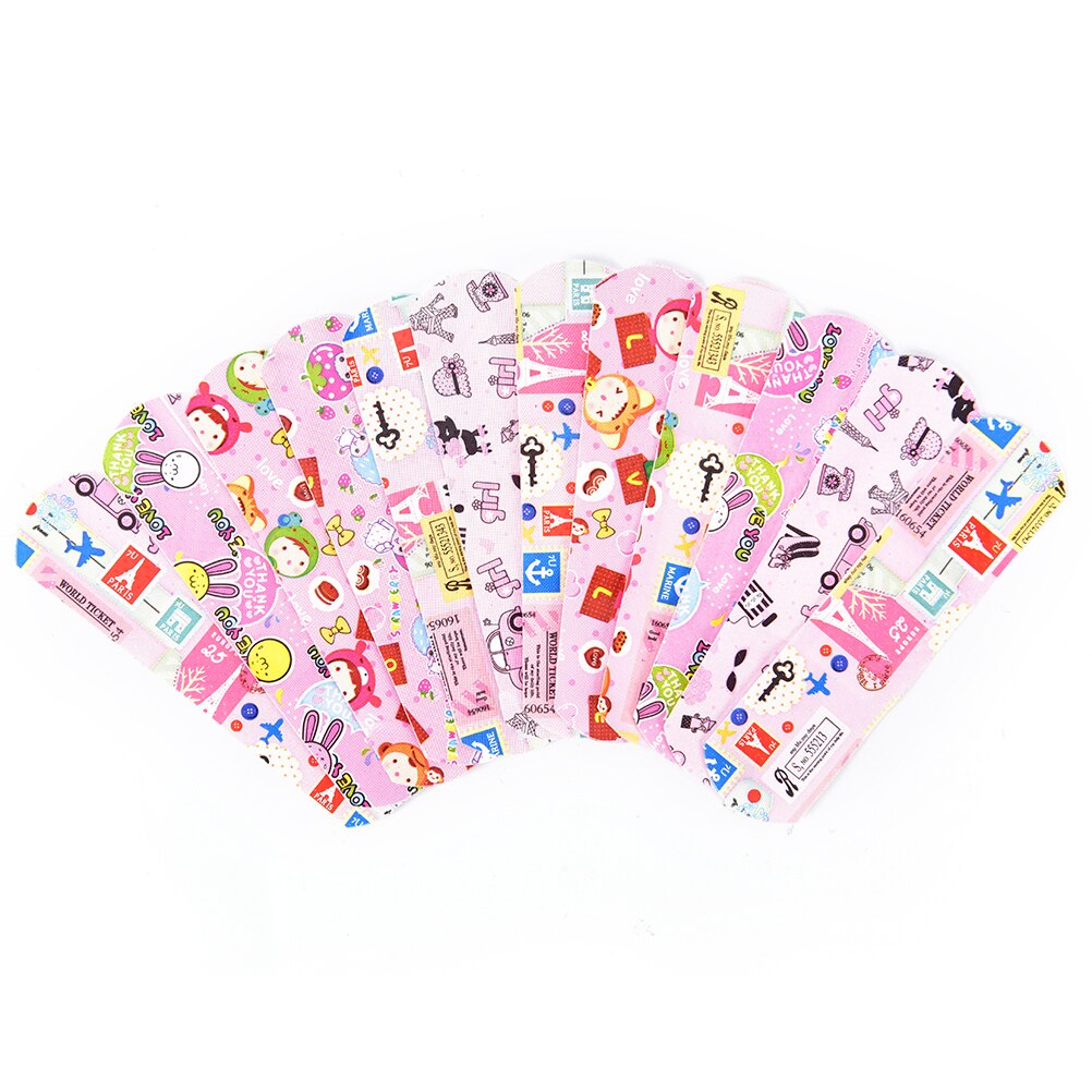 Cartoon Band Aid Hemostasis Adhesive Bandages Waterproof Breathable First Aid Emergency Kit For Kids Children Skin Care 50PCs