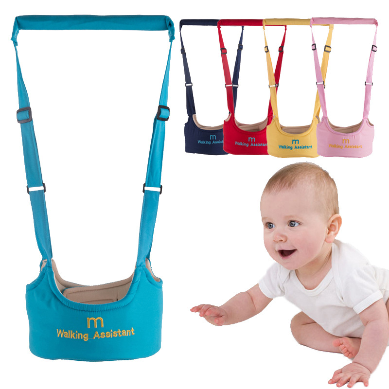 Baby Toddler Walking Assistant For Mom Carrier Keeper Learning Walk Safety Reins Harness walker Wings Protection Belt