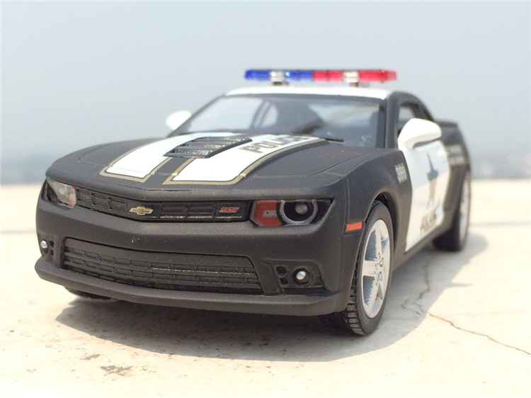 Brand Chevrolet The hornets  corvette Police theCar Alloy Diecast Model Car Vehicle Toy Collection As Gift For Boy Children
