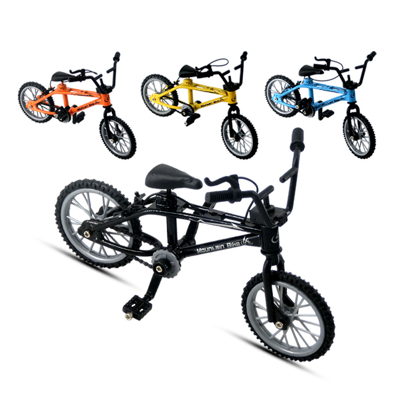 Mini Finger BMX Bicycle Flick Trix Finger Bikes Toys BMX Bicycle Model Bike Tech Deck Gadgets Novelty Gag Toys For Kids Gifts