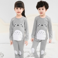 Spring Children Clothes Kids Clothing Set Boys Pajamas Sets Totoro Styling Nightwear Cotton Pajamas Girls Sleepwear Baby Pyjama