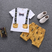 Baby Boy Clothes Summer Children Clothing Cartoon 2018 New Kids Cotton Cute  Sets Baby Boy Outfit Costumes Baby Clothing Set