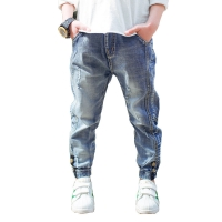 Boys Jeans 2018 Spring Autumn Fashion Boys Jeans Casual Children Clothing Denim Trousers Kids Pants 4 6 7 8 9 10 11 12 13 Years