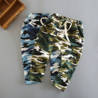 MRJMSL cotton children harem pants for baby boys camouflage trousers kids casual pants blue green army camo 2019 Girls Pants