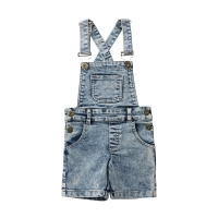 Fashion Toddler Kids Baby Boys Girls Denim Bib Pants Overalls Jean Outfits Sleeveless Denim Shorts Jumpsuit Outfits Summer