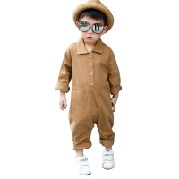 2019 new spring summer boys jumpsuit rompers age for 1-6 yrs little boys overalls pants baby boys school style children clothing