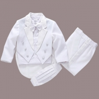 fashion white/balck baby boys suit kids blazers boy suit for weddings prom formal spring autumn wedding dress boy suits