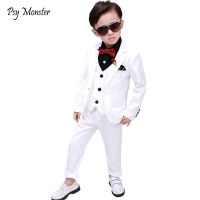 Wedding Suit For Boys Children Prince Stage Performance Formal Suit Birthday Flower Kid School Suit ceremony chorus costume F158