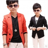2019 children's spring casual suits boys jackets wholesale Korean style long sleeve blazers, C189