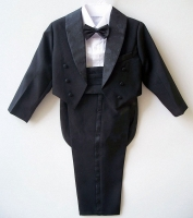 Big Boys suits for wedding Kids Prom Suits Black/White party Suits for Boys Tuxedo Children Clothing Set Boy Formal Costume