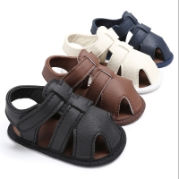Baby Infant Toddler Shoes Boy Soft Sole Sneaker Shoes Anti-slip Crib Shoe 0-18M