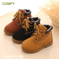 New Fashion Winter Baby Boots Boys And Girls Calzado Botas Ninas 2015 Infant Girl Winter Leather Boots Baby Warm Snow Boots