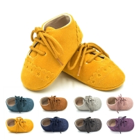 Newly Lovely Casual Fashion Toddler Baby Girls Boys Shoes Soft Sole Crib Shoes Solid Cross-tied Lace-Up Shoes Outfit Spring Fall