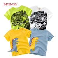 2019 Children's T-shirts for Girls Tops Kids Tshirt Boys Dinosaur Shirts Clothes Boys T Shirt Birthday Child T-shirt for Boys