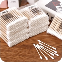 yooap Baby swabs Hygiene Cleansing cotton swabs 100 sticks Natural high quality cotton Available at both ends