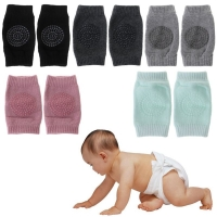 5 Pairs Baby Knee Protector Pads Non Slip Safety Crawl Training Kid Elbow Cushion