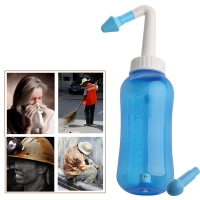 Free Shipping 2020 Nose Wash System Sinus & Allergies Relief Nasal Pressure Rinse Neti pot NEW