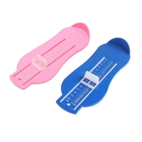 Adjustable Scale Shoe Size Foot Length Ruler Baby Feet Measuring Instrument Professional Nursling Foot Gauge Measurer Device