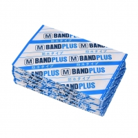 50pcs Waterproof  First aid bandage hemostatic medical disposable Band-Aid with a sterile gauze pad first aid for Skin Care