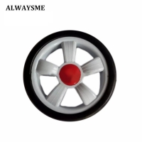 1PCS Baby Kids Stroller Replacement Parts Stroller Wheels Universal Front Rear Wheel Diameter 128mm Width 34mm Hole 6mm