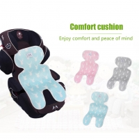 3D Breathable Stroller Mat Children Car Dining Chair Cushion Baby Seat Pad for Four Seasons