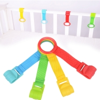 4pcs/set Creative Baby Bed Hooks Ring Playpen Baby Crib Hooks Baby Toys Baby Supplies