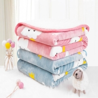 100*150CM Multi-use Baby Quilt Blanket Newborn Bedding Flannel Kids Sleep Quilt Covers Sofa Blankets Rest Blanket Nap Quilts