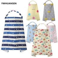 YWHUANSEN 100*70cm Cute Cartoon Newborn Baby Cape for Feeding For Infants Mum Nursing Breastfeeding Cover Mother Lactation Apron