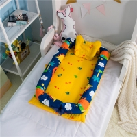 Baby portable bed in the bed removable and washable baby isolation bed newborn baby bionic bed full detachable design