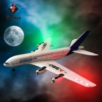 2019 new WLtoys Airbus A380 airplane toys 2.4G 3Ch RC airplane Fixed Wing Plane Outdoor toys Drone  A120-A380  rc plane toys