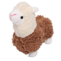 9CM Height Approx. Standing Animal Horse Plush Stuffed Toy , Key Chain Doll