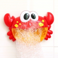 Bubble Crabs Music Baby Bath Toys Kids Pool Swimming Bathtub Soap Machine Automatic Bubble Funny Crabs Frog Bath Music Bubble