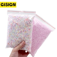 12g Addition for Slime Warm Color Snow Mud Particles Accessories Tiny Foam Beads Slime Balls Supplies Charms
