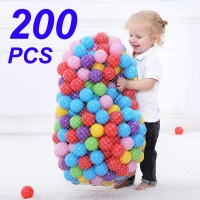 Colors Baby Plastic Balls Water Pool Ocean Wave Ball Kids Swim Pit With Basketball Hoop Play House Outdoors Tents Toy HYQ2
