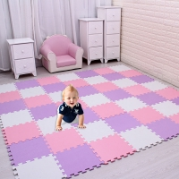 18pc/set Baby EVA Foam Puzzle Play Mat /kids Rugs Toys carpet for childrens Interlocking Exercise Floor Tiles,Each:29cmX29cm