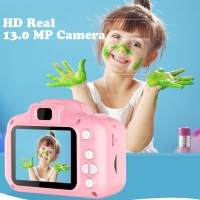 13.0MP Rechargeable Kids Mini Digital Camera 2.0 Inch HD Screen Video Recorder Camcorder Language Switching Timed Shooting