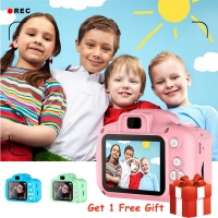 Children Mini Kids Camera Educational Toys for Children Baby Gifts Birthday Gift Digital Camera 1080P Projection Video Camera