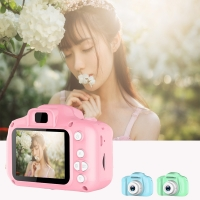 Children Mini Camera Kids Educational Toys for Baby Gift Digital Camera 1080P Projection Video Camera with 2 Inch Display Screen