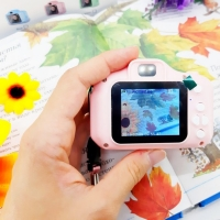 2019 Kids Camera Toy for Birthday Christmas Gift Mini Digital Cameras Toys for Children Photography Props