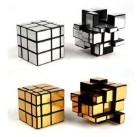 Magic Cube Third-order Mirror Shaped Children Creative Puzzle Maze Toy Adult Decompression Anti-pressure Artifact Toys TY0306