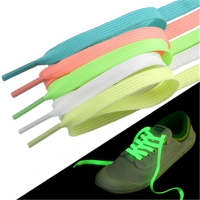 Luminous 1pair 120cm Fashion Sport Toys Accessories Shoelace Glow In The Dark Improve Manipulative Ability Gift For Children