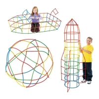Plastic Tunnel Interconnecting Building Blocks Kids Toys for Children Assemble Educational Play Games Outdoor Toy Party Fun Gift