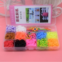 600pcs Children Diy toys rubber bands bracelet loom girl hair band colorful gum make woven bracelets kids gift toy dropshipping