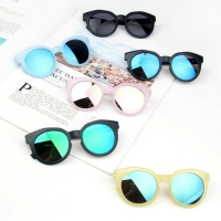 Fashion Children's Boys Girls Sunglasses Shades Bright Lenses UV400 Protection Sunglasses colored Kid Beach Toys 2-8Y