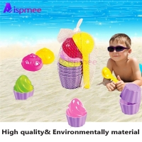 Baby  Beach Toys Early Educational Bath Toys Small Cake Mould Spoon Ice Cream Pudding Beach Play Sand Snow Play Water Toys