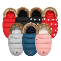 Winter New Born Baby Items Sleeping Bag Blanket Envelop Warmer Dearest