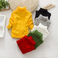 2019 New Autumn Winter Kids Sweater Casual Cotton Thick  Long Sleeve Tops Baby Girls Infant Warm Clothes